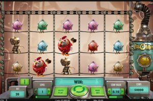 New slot tournament is based on NetEnt's EggOMatic